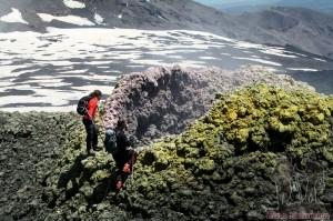 Excursion on Etna
