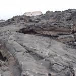 Pahoeoe lava close to Hotel Corsaro Etna