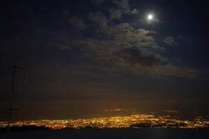 Wuensche Catania by night from Hotel Corsaro room 204 210710