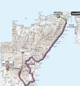 Giro d'Italia 2011 - Etna - Hotel Corsaro