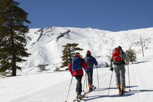 Sci Alpinismo sull'Etna escursioni guidate sulla neve