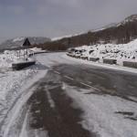 S.P. 92 Nicolosi - Etna ghiacciata