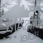 Capodanno 2011 - sveglia all'Hotel Corsaro Etna