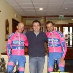 Team Lampre all'Hotel Corsaro Etna Nicolosi
