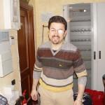 Volontario per foto neve Albergo Corsaro Etna Nicolosi - Alessandro