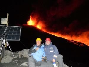 Eight Etna eruption of year 2011
