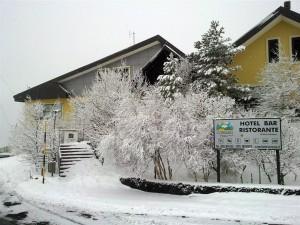 Hotel Etna e neve 2