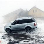 Hotel Corsaro Etna Nevicata Range Rover