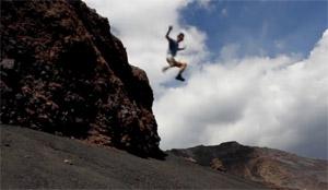 Etna Walk (and Jump)