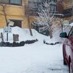 March 2013 snow at Hotel Corsaro Etna