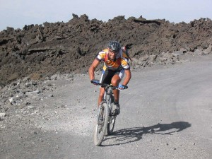 Cycling on Etna