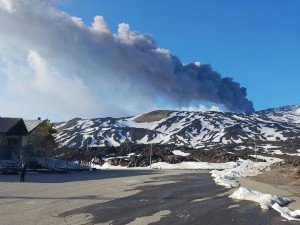 Ten injuried on Etna, today